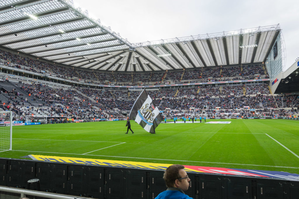 Newcastle United FC - 4. Reihe ist echt toll