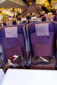 Neue Business Class bei Thai Airways