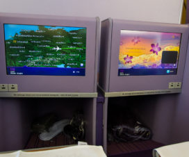 IFE in der Thai Airways Business Class