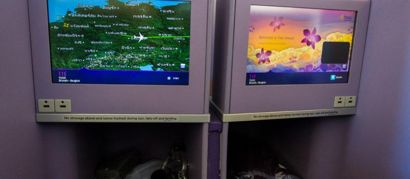 IFE in der Thai Airways Business Class