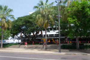 Weihnachtsdekoration in Darwin