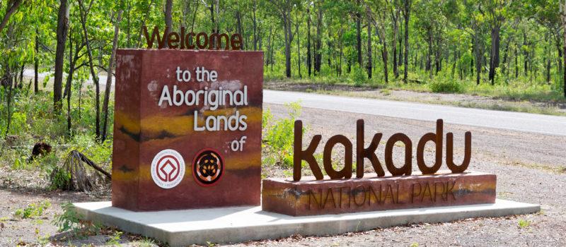 Eingang kakadu Nationalpark