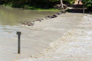 Crocdile Massacre - Überschwemmte Straße