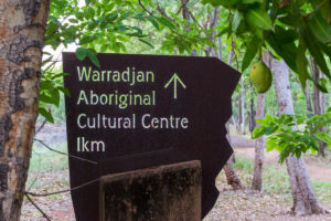 Warradjan Aboriginal Cultural Centre - Fotografieren verboten
