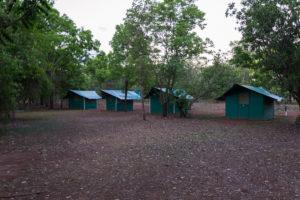 Unsere Zelte in der Cooinda Campsite