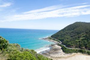 Australien - Küstenstraße mit viele Kurven
