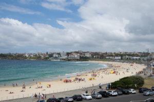 Australien Urlaub Bondi Beach Sydney - nochmal schwimmen gehen