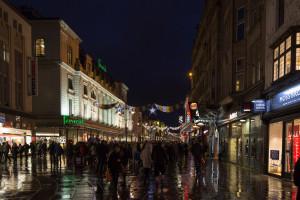 Silvester in Newcastle - der Abend beginnt