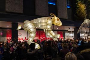 Winter Carnival Newcastle - Riesen Hase