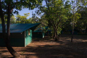 Festes Zelt von WayOutBack auf Cooinda Campsite