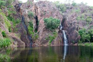 Klares Wasser an den Wangi Falls