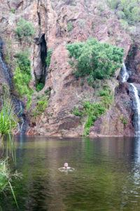 Im Wasser ist es am schönsten - Wangi Falls
