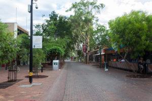 Fußgängerzone in Alice Springs