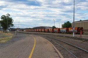 Langer Zug, kein Road Train