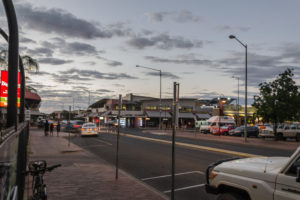 Alice Springs bei Nacht