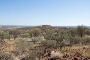 Blick über die weite im Norther Territory