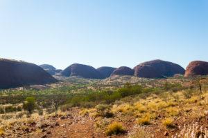 Felsformationen im Uluru-Kata-Tjuta-Nationalpark