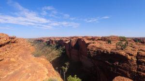 Atemberaubend dieser Kings Canyon bei dem tollen Wetter