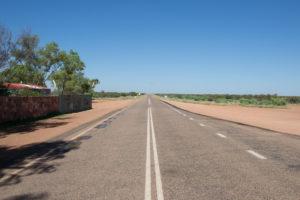 Auf dem Weg zum Uluru