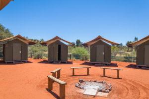 Zelthütten im Ayers Rock Resort