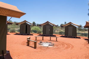Campingplatz im Outback - Ayers Rock Resort