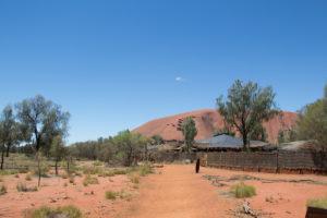 Blick auf den wichtigsten Berg Australiens