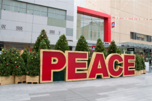 PEACE - Weihnachtsschmuck