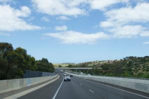 Auf dem High Way bei Adelaide