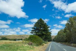 Auf dem Weg nach Cape Jervis