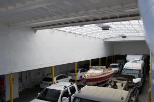 Autodeck auf der Sealion 2000
