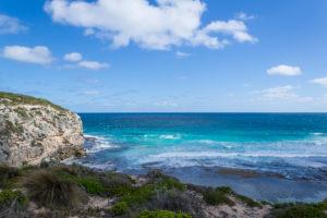 Blick auf die Australische Küste