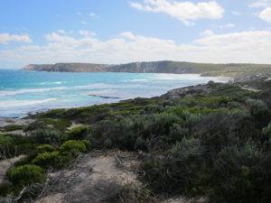 Kangaroo Island - Blick am Hafen
