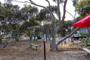 Spielplatz auf dem Campingplatz