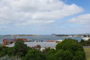 Victor Harbor Weg zur Granite Island