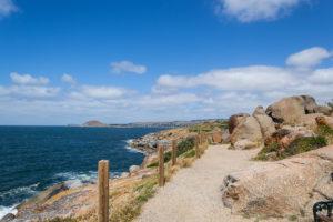 Ausblick von Granite Island