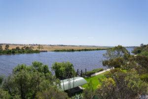 Murray River Fähre bei Tailem Bend