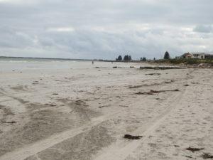 Strand ganz in der Nähe des Campingplatzes