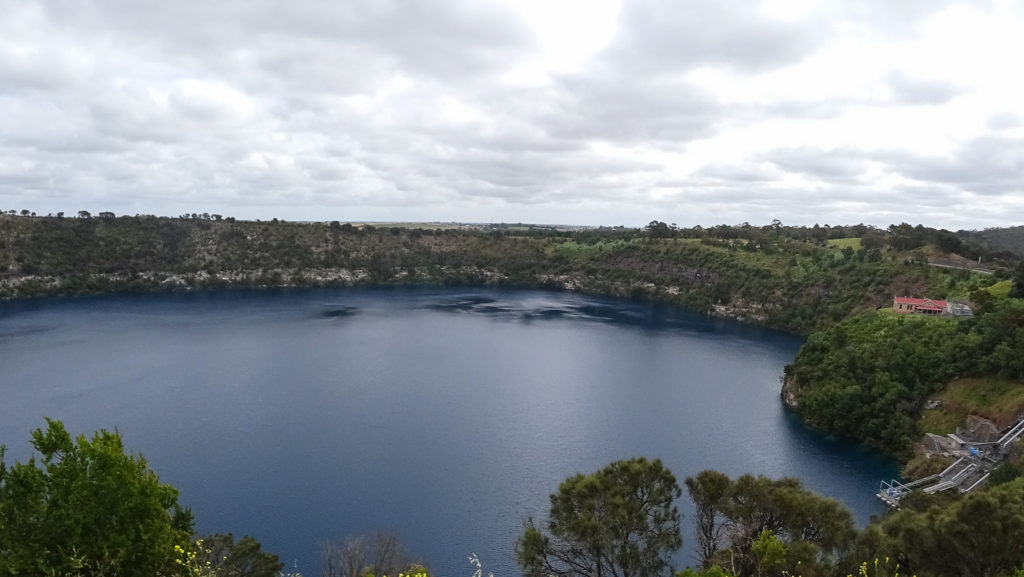Blue Lake bei Mount Gambier