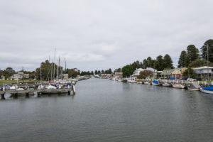 Hafen für kleine Schiffe in Port Fairy
