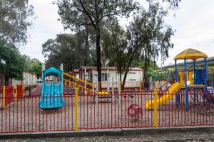 Spielplatz des Barwon River Holiday Park