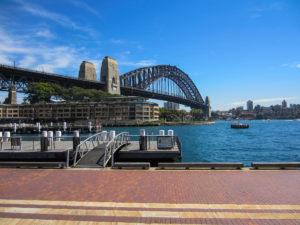 Abfahrt zur Sydney Luncheon Cruise