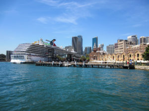 Sydney Harbour mit Carnival Spirit