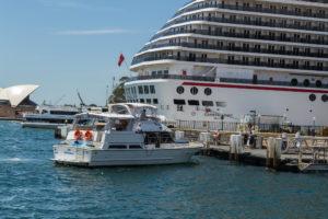 Ambiance für die Sydney Luncheon Cruise