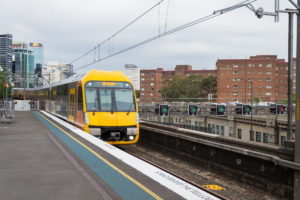 Local Train nach Richmond - Sydney