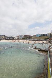 Bondi Beach mit Nichtschwimmerbecken