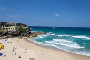 Tamarama Beach - schwimmen gehen im Dezember