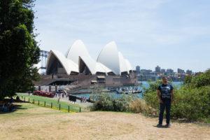Botanischer Garten und Sydney Opera