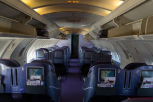 Thai Airways Jumbo - oben