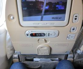 Wo sollen meine Beine hin? Etihad nach Dubai