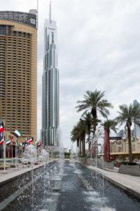 Burj Khalifa im Regen